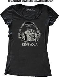 King Yoga tee