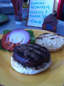 Mountain Naturals burger Aspen