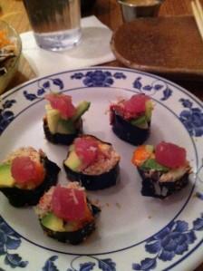 Riceless El Jebel Roll at Sushi Ya GO Go