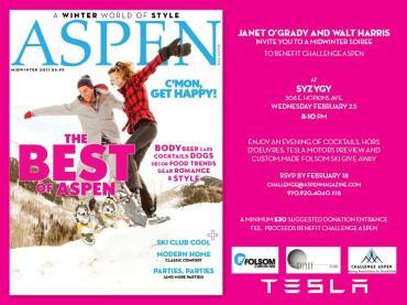 Aspen Magazine Challenge Aspen party