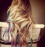 Lauren Conrad tip dyed hair
