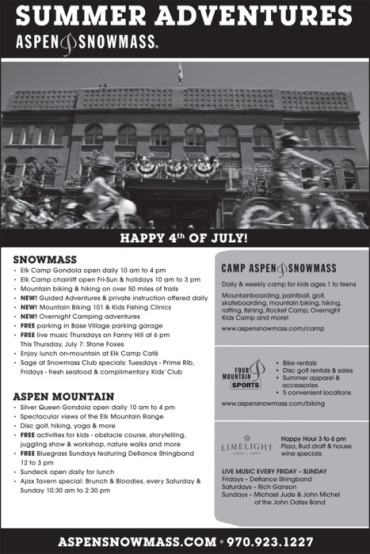 July 4th Aspen