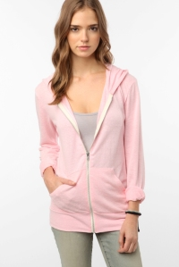 Alternative apparel pink ribbon hoodie