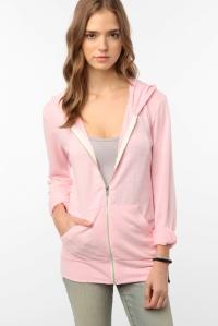 Alternative apparel pink ribbon hoodie