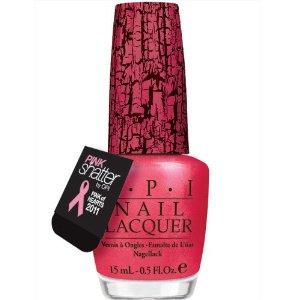 OPI pink shatter