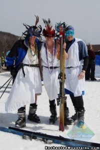 togas in snow