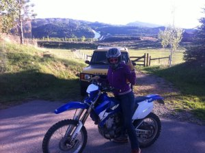 learning to dirtbike