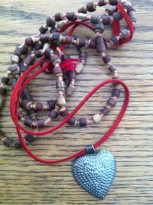 heart of haiti necklace