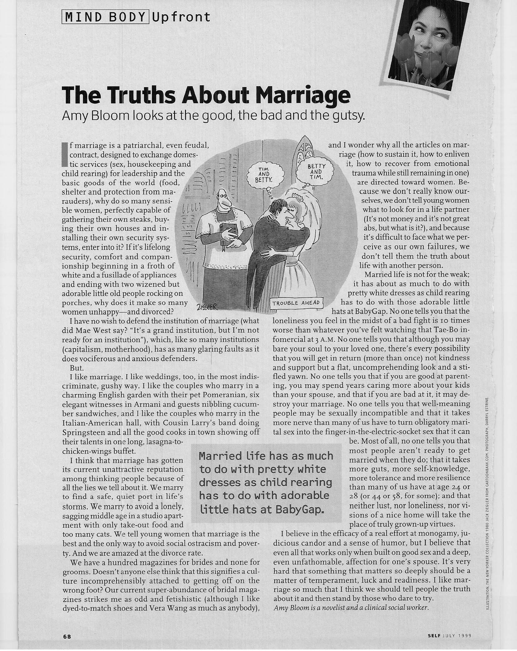 truth about marriage